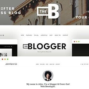 JUAL TheBlogger - A WordPress Blogging Theme for Bloggers