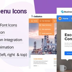 JUAL WP Menu Icons - Effectively Add & Customize Icons For WordPress Menus