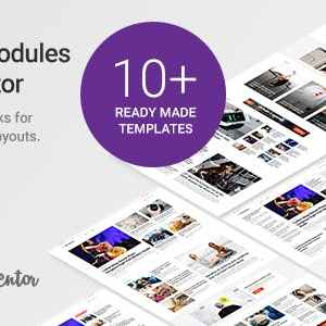 JUAL WP Post Modules for NewsPaper and Magazine Layouts (Elementor Addon)