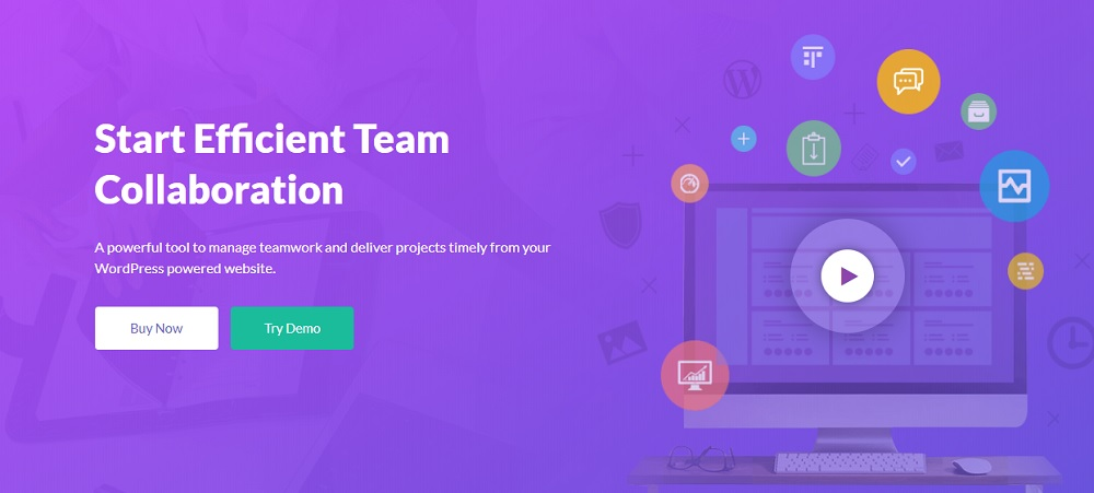 JUAL WP Project Manager Pro - Best Project Management Tool for WordPress