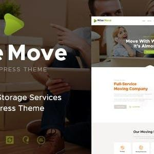 JUAL Wise Move - Relocation and Storage Services WordPress Theme