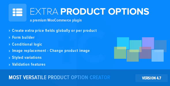 JUAL WooCommerce Extra Product Options