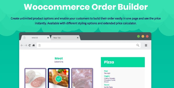 JUAL WooCommerce Order Builder - Combo Products & Extra Options