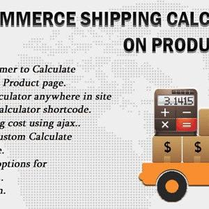 JUAL Woocommerce Shipping Calculator On Product Page