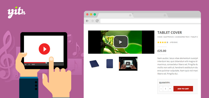 JUAL YITH WooCommerce Featured Audio & Video Content