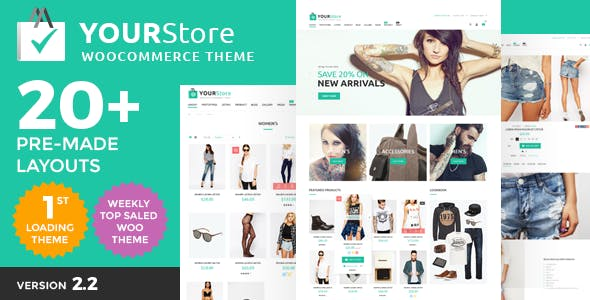 JUAL YourStore - Woocommerce theme