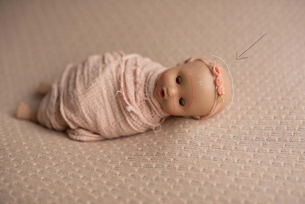 studio lighting for newborn photography