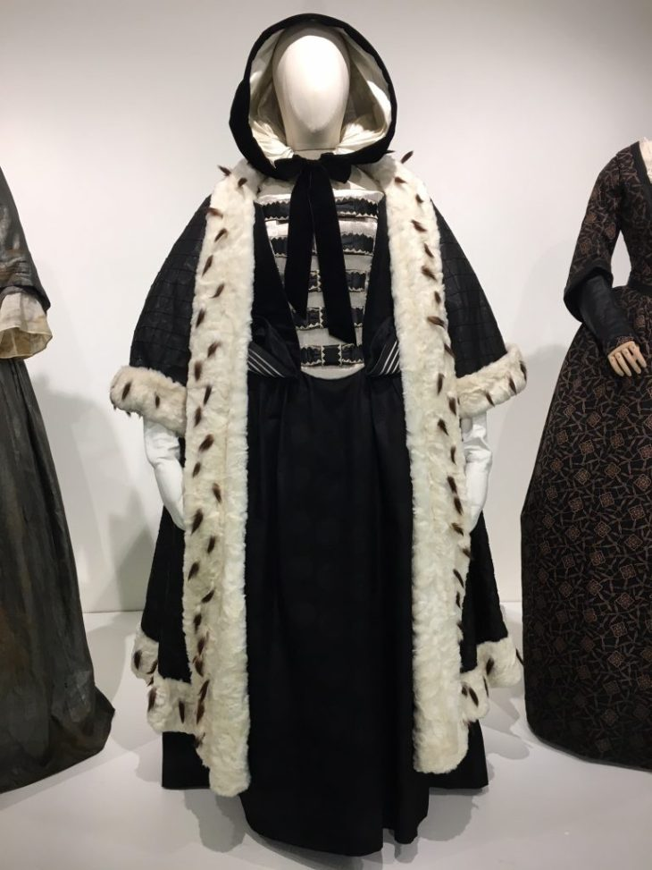 Queen Anne costume from The Favourite movie