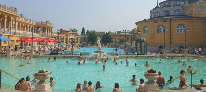 5 Balnearios en Budapest