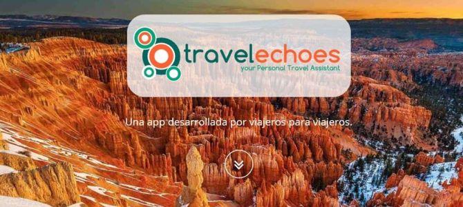 TravelEchoes, tu asistente personal de viajes
