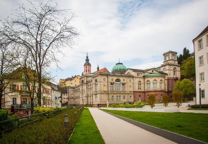 Vista de la ciudad de Baden-Baden
