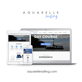 AQUARELLE Sailing web