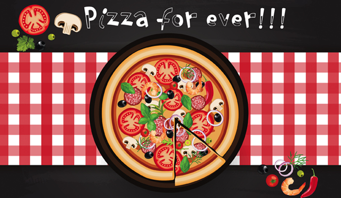 Pizza for ever!!!