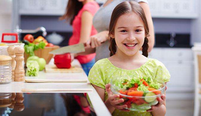 Ο δεκάλογος της παιδικής διατροφής