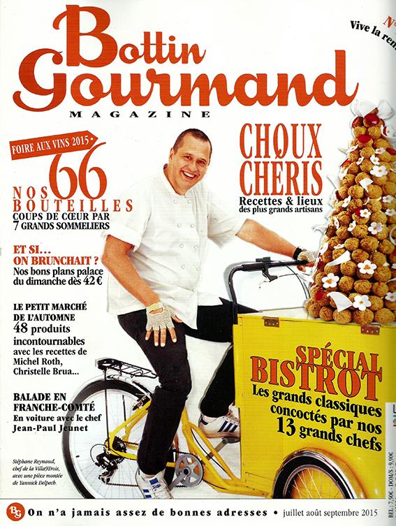 Bottin Gourmand   Ιούλιος/Αύγουστος/Σεπτέμβριος 2015