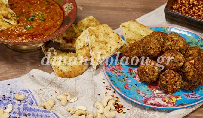 Ινδικά kofta με κινόα και σάλτσα Makhani