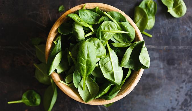 Σπανάκι… Ο πράσινος θησαυρός