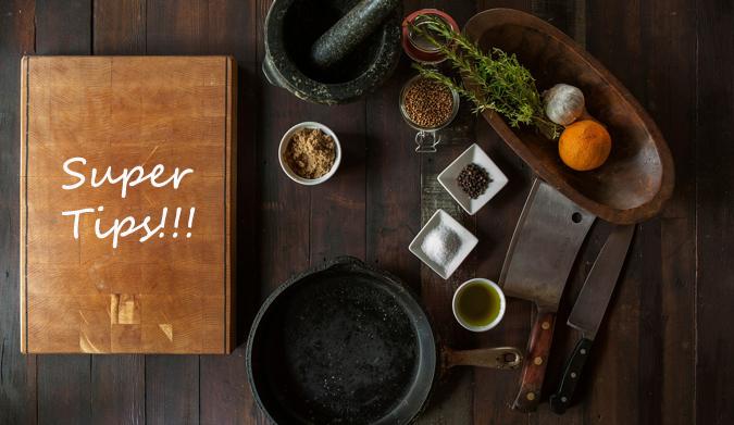 10 μαγειρικά tips που πρέπει να γνωρίζετε απ' έξω!
