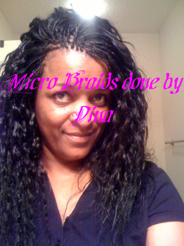Micro Braids Done By Dina Dina Professional African Hair