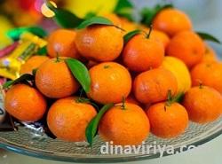 arti jeruk - pernak-pernik imlek
