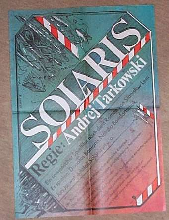 Solaris poster from east germany