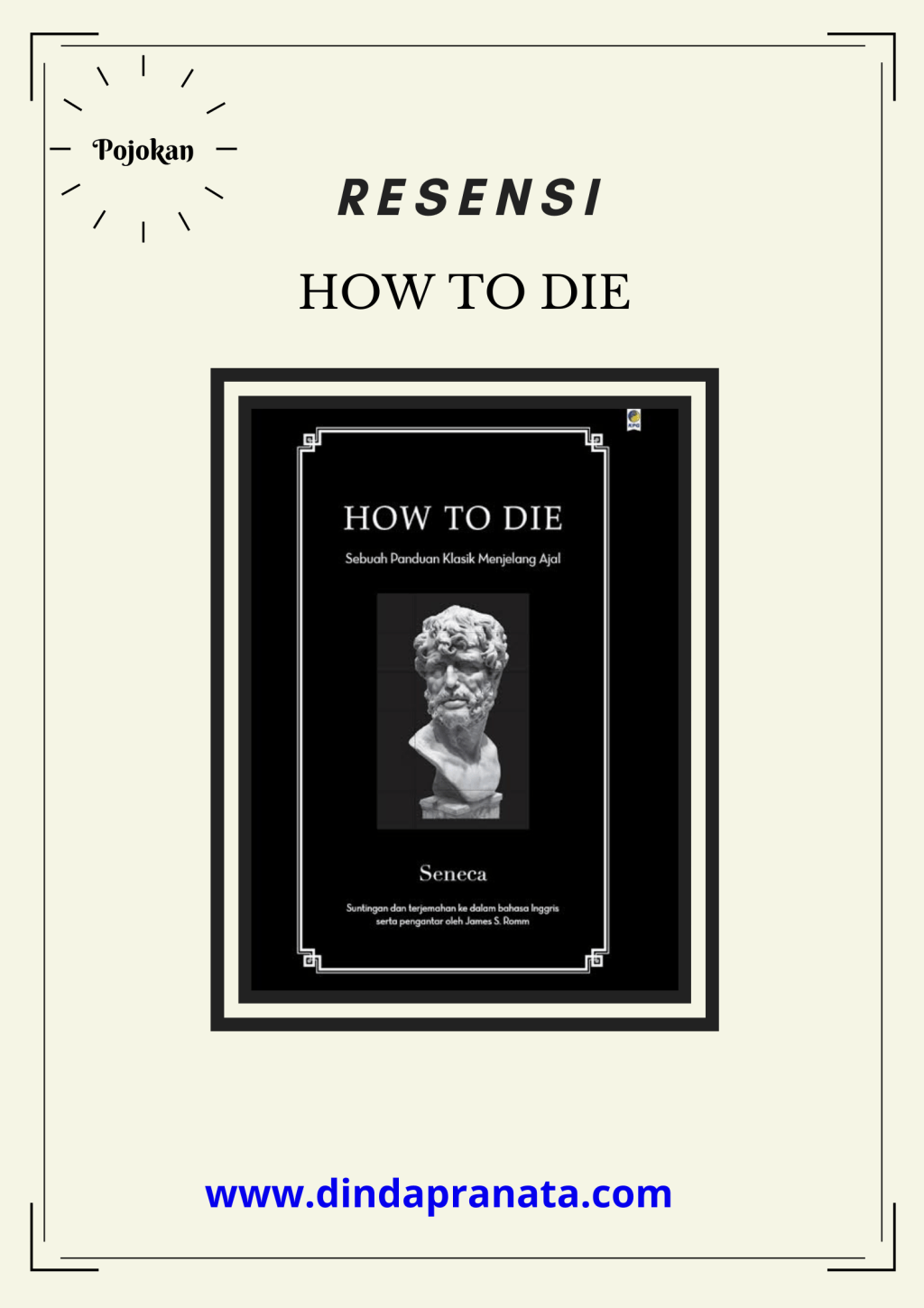 Resensi How To Die