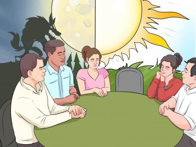 cara bermain werewolf play kartun