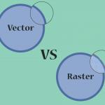 gambar vektor (vector) vs dan bitmap (raster)