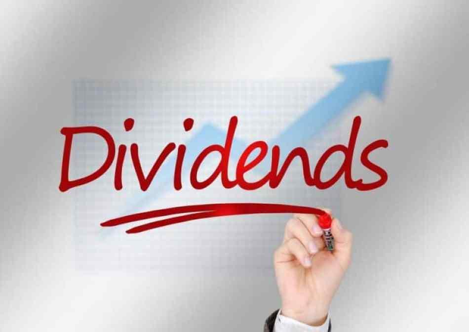 gambar dividends, grafik naik, kelebihan shopee