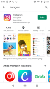 instal aplikasi instagram di playstore, cara menggunakan instagram versi baru bagi pemula