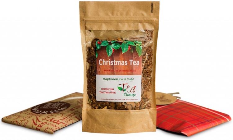 festive, christmas tea