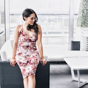 Inside the rooftop lounge at the Thompson Toronto