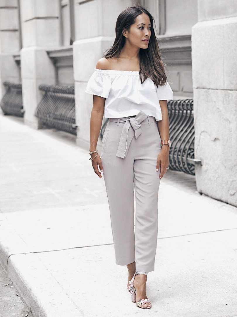 Love that you can dress these pants up or down