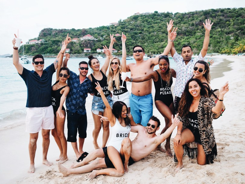Great times at Nikki Beach St. Barth
