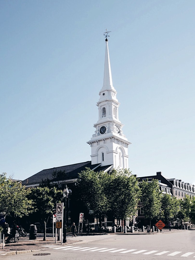 Market Square in Portsmouth New Hampshire