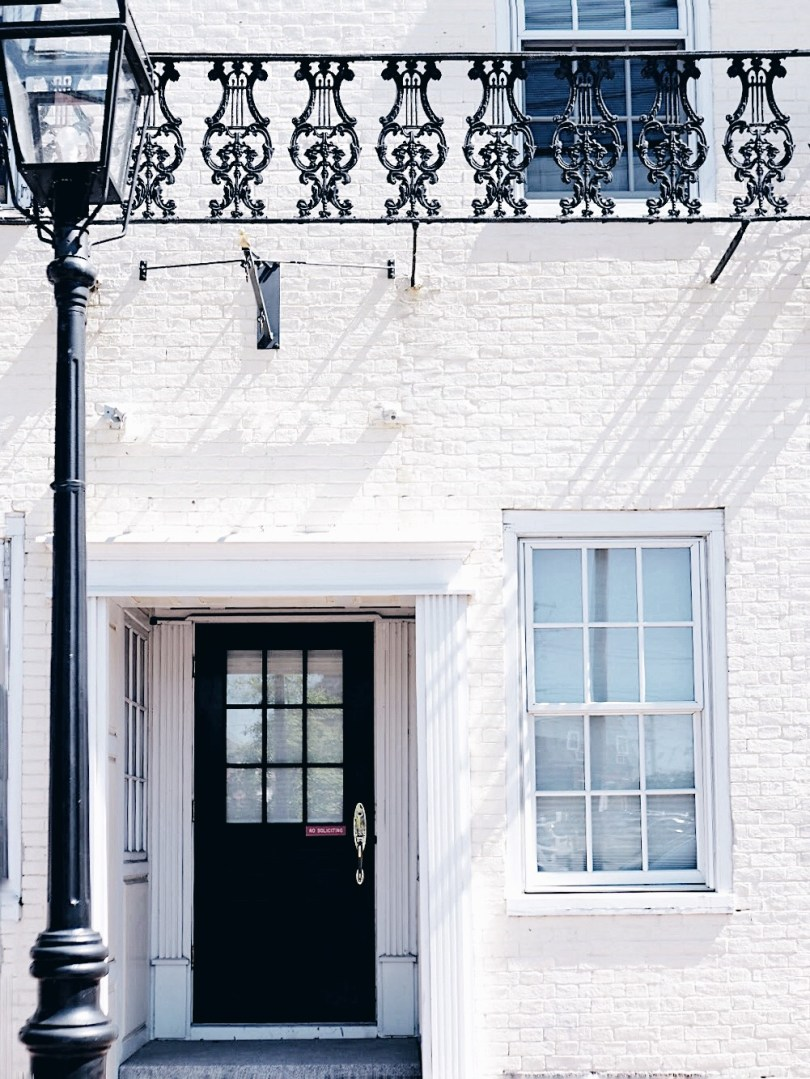 Beautiful doorways in Portsmouth New Hampshire