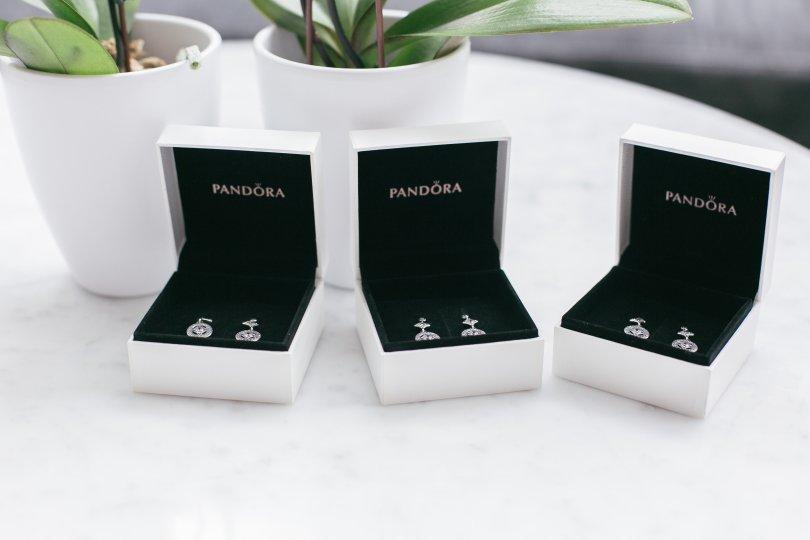 Beautiful Vintage Allure earrings from Pandora Jewellery