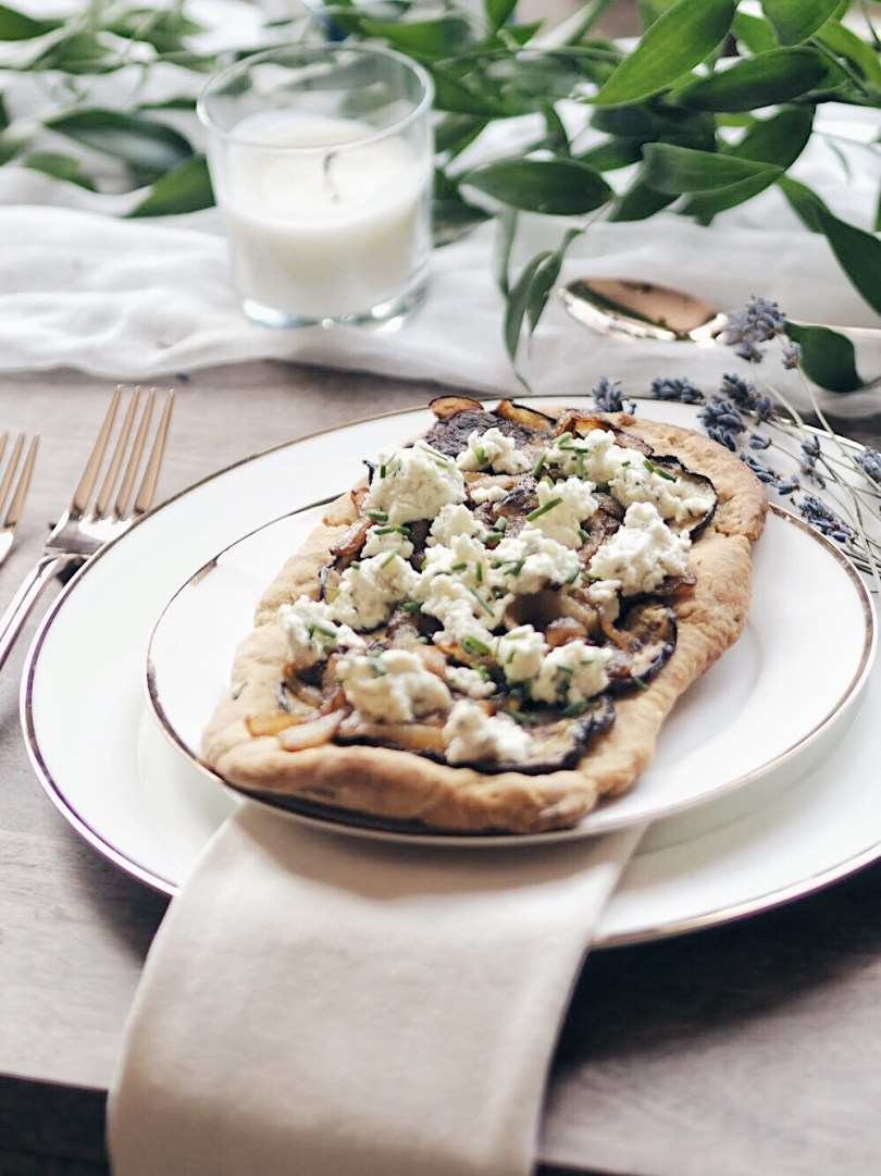 Individual sized flatbreads that can easily be shared
