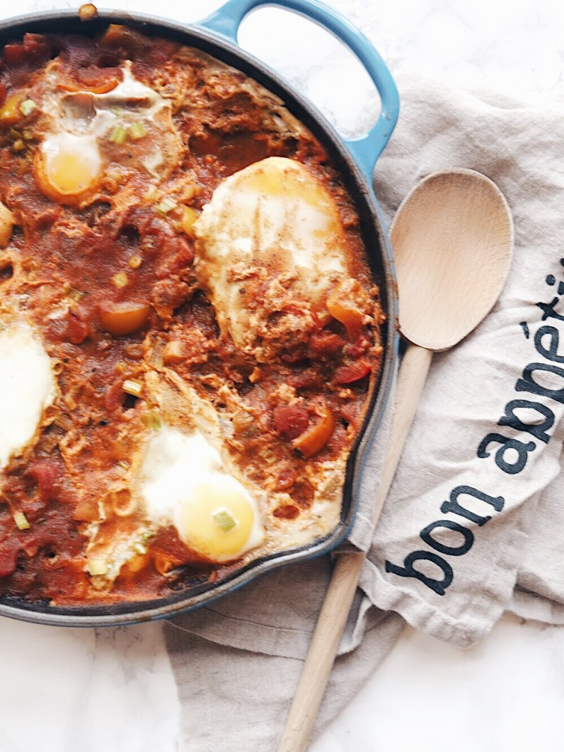 Easy, one pan shakshuka recipe