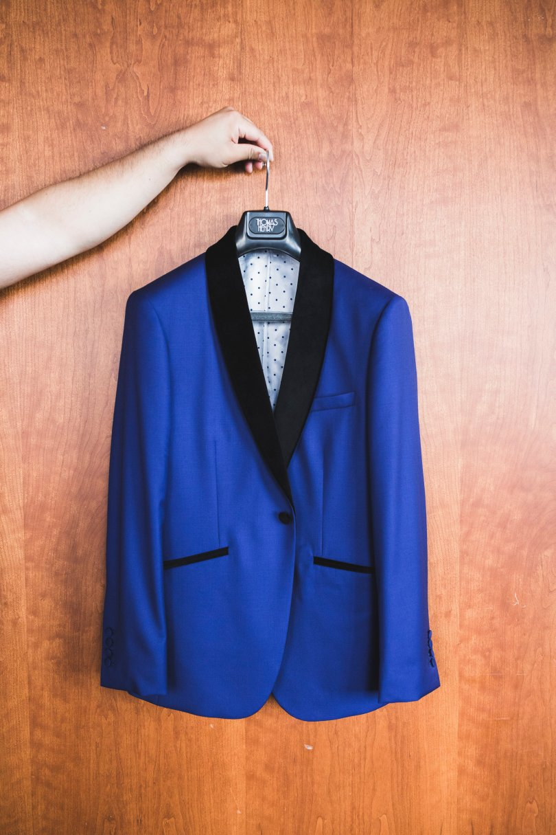 Made to measure suit by Thomas Henry Made