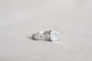 photo of my engagement ring