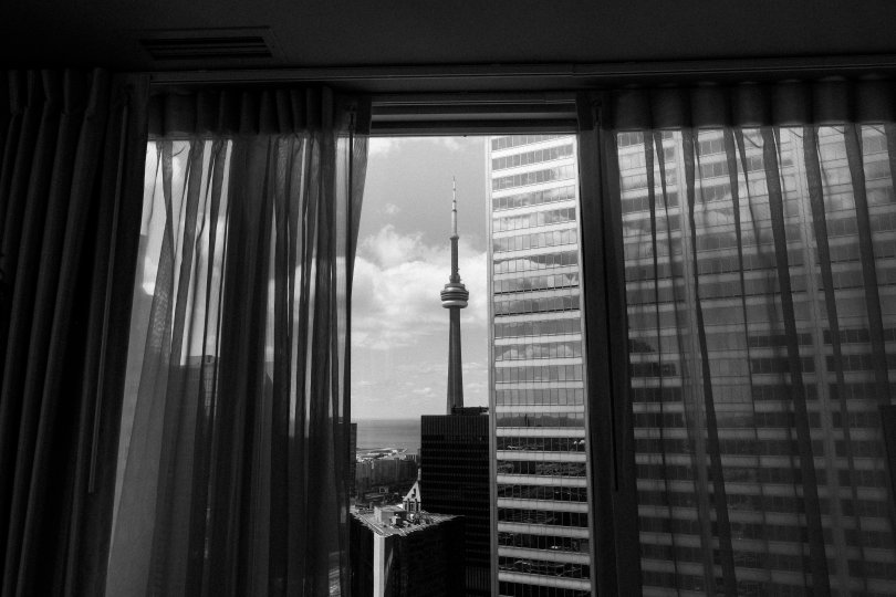 View of Toronto from Tower Prestige Suite