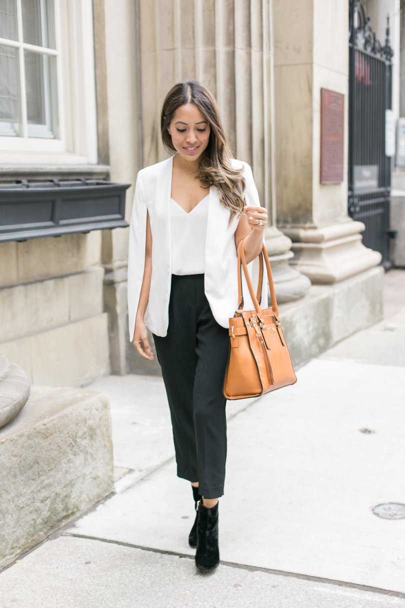 white cape babaton cohen trousers