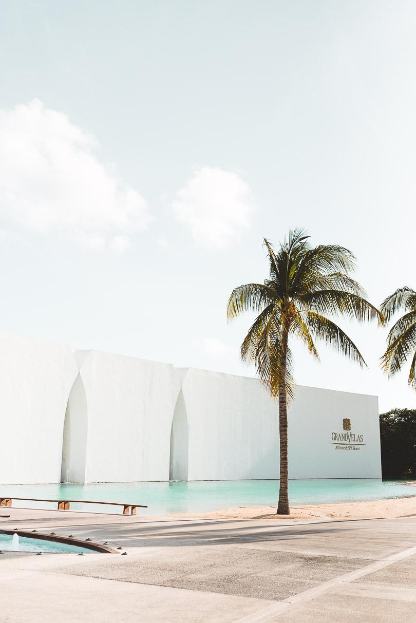 Entrance at Grand Velas Riviera Maya