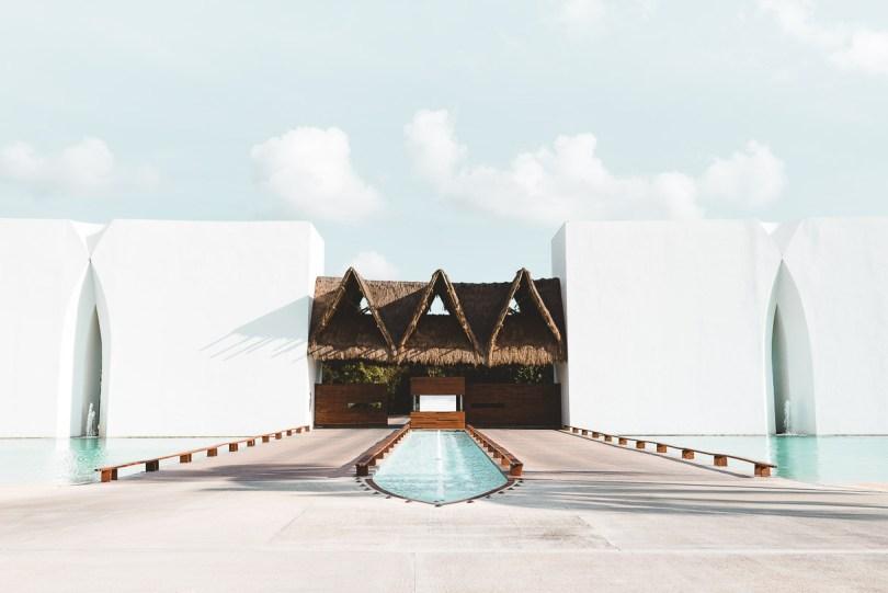 Entryway at Grand Velas Riviera Maya
