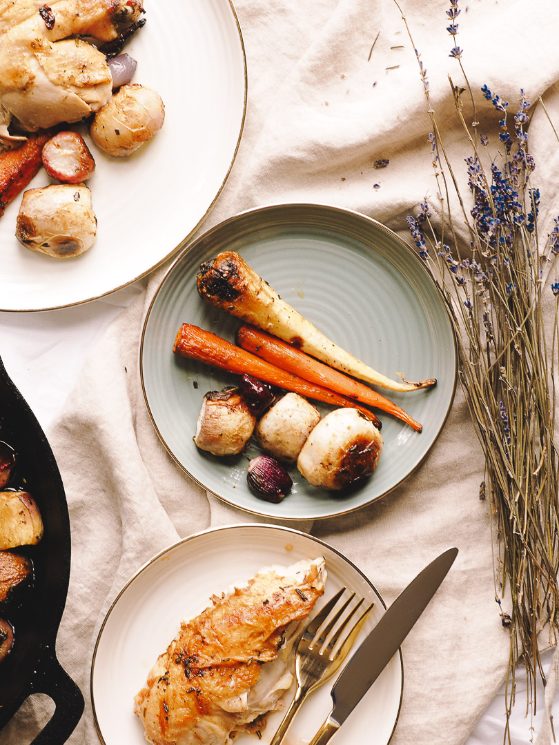 Carrots, parsnips, turnips and shallots