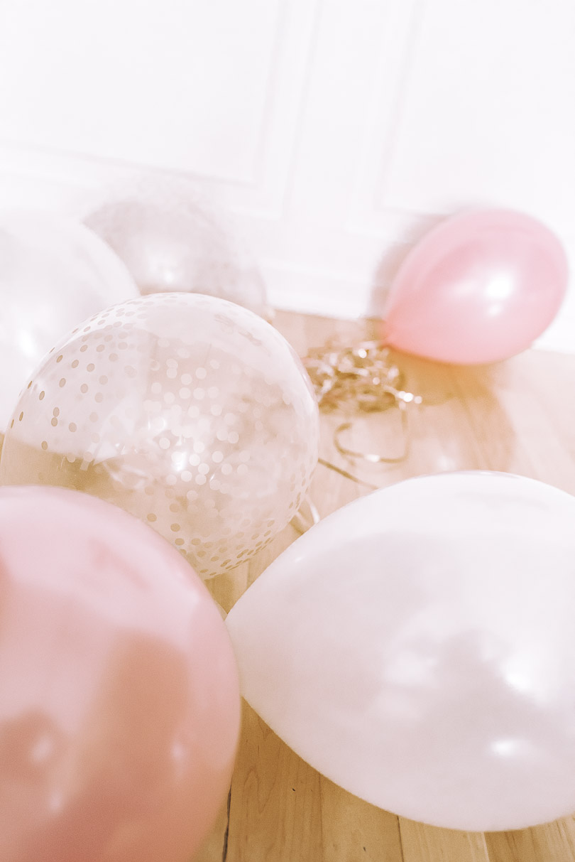 Balloons on the floor