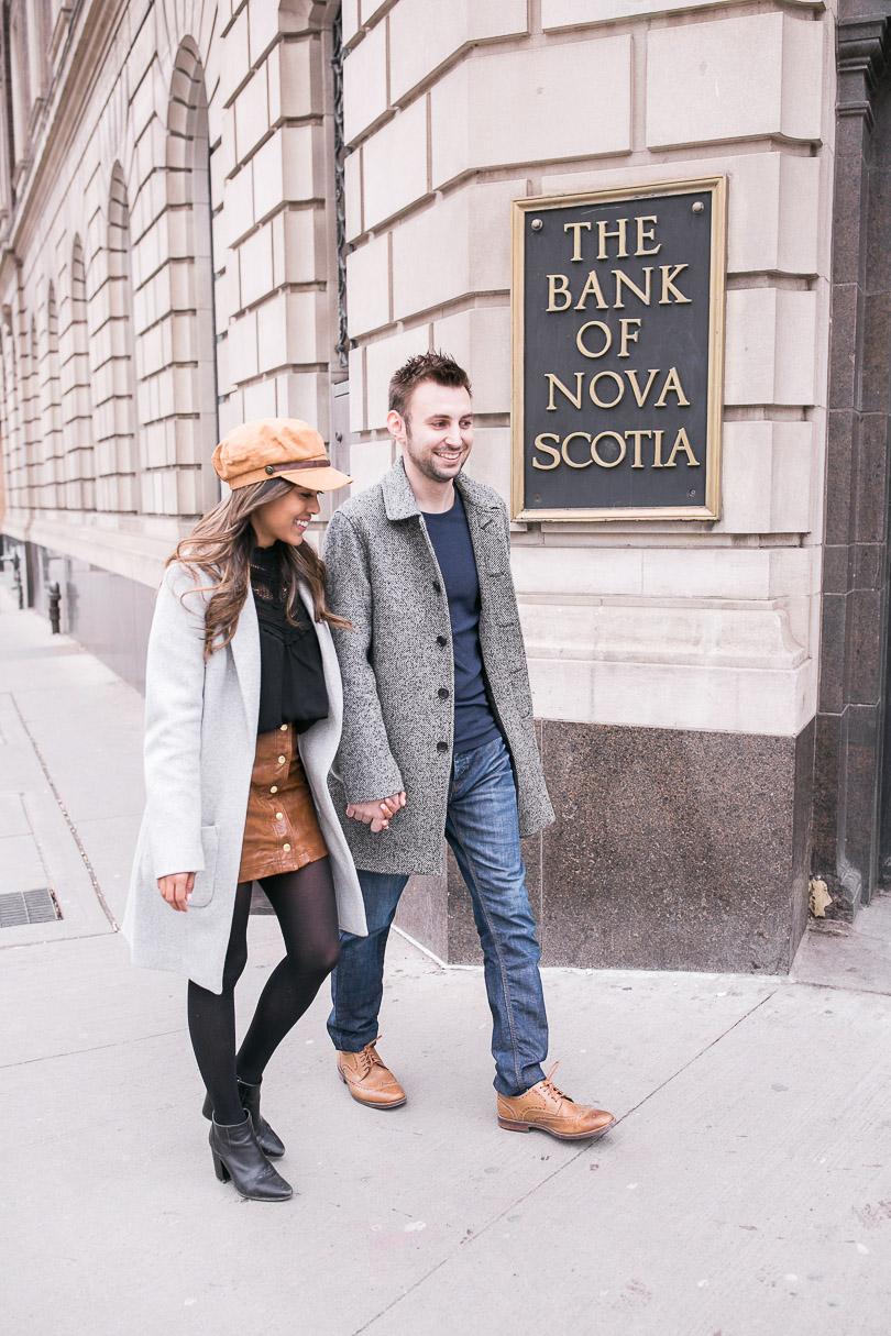 Walking into Scotiabank