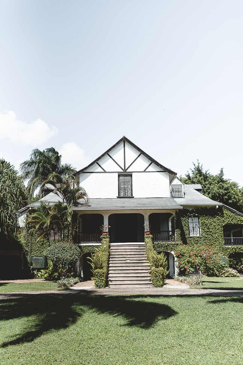 Hampden Estate, one of the few remaining Great Houses in Jamaica