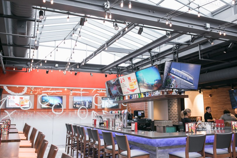 Boston Pizza Yonge and Gerrard location in Toronto